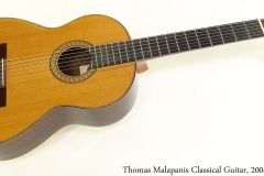 Thomas Malapanis Classical Guitar, 2004 Full Front View