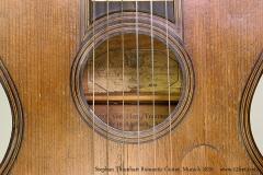 Stephan Thumhart Romantic Guitar, Munich 1820 Maker Label View
