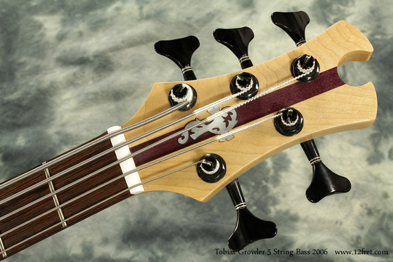 Tobias Growler 5 String Bass 2006 head front