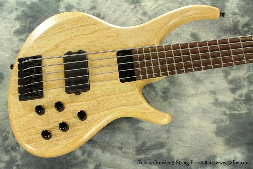 Tobias Growler 5 String Bass 2006 top