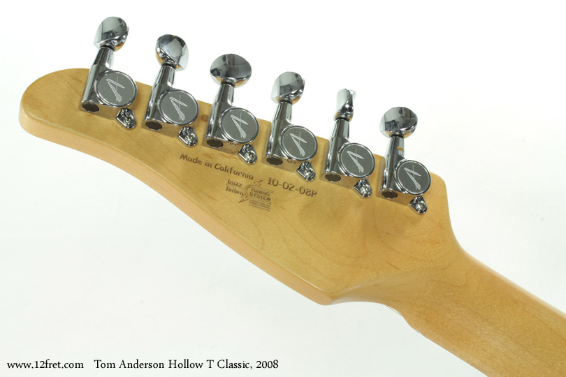 Tom Anderson Hollow T Classic 2008 head rea