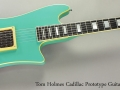 Tom Holmes Cadillac Prototype Guitar, late 1980s Full Front View