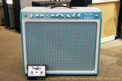 Tone King Imperial 1x12 Combo Amp Torquoise-White, 2010 Full Front View