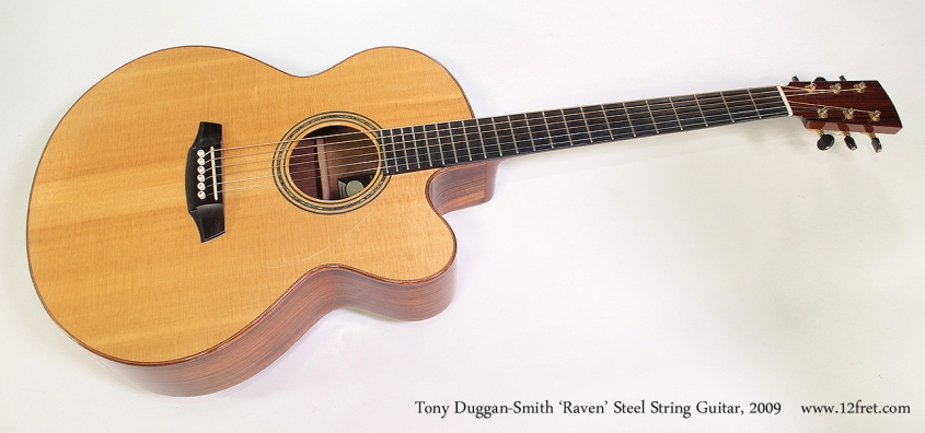 Tony Duggan-Smith 'Raven' Steel String Guitar, 2009 Full Front View