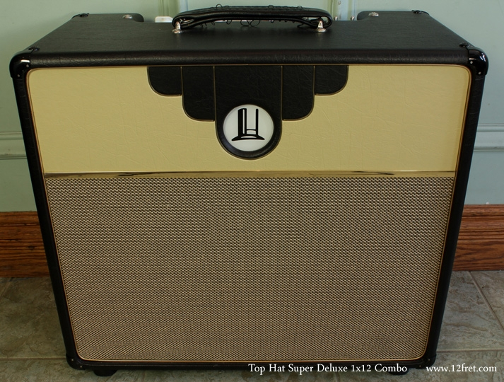 Top Hat Super Deluxe Club Amplifier, 2007 front