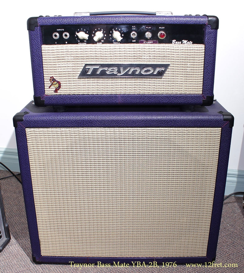 Traynor Bass Mate YBA-2B, 1976 Full Front View