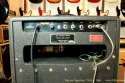 "Traynor Signature YGA-1 100 watt combo with 15\"" speaker, rear panel view"
