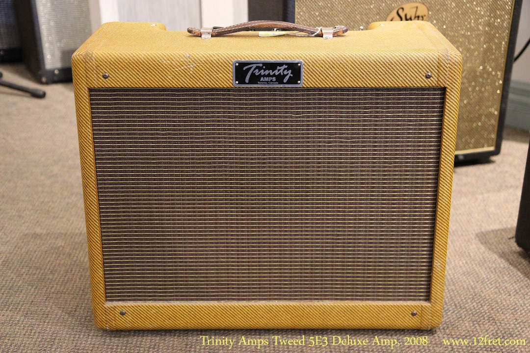Trinity Amps Tweed 5E3 Deluxe Amp, 2008 Full Front View