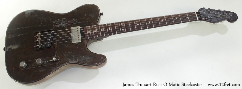 James Trussart Rust O Matic Steelcaster full front view
