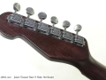 James Trussart Rust O Matic Steelcaster head rear