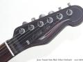 James Trussart Satin Black Deluxe Steelcaster head front