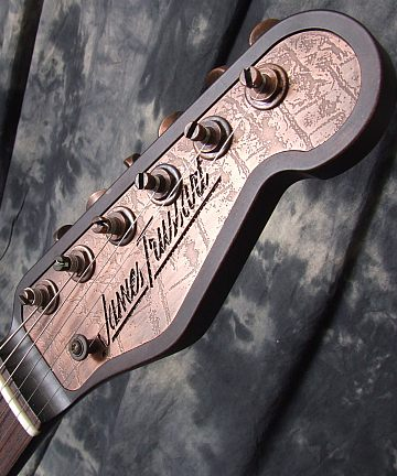 Trussart_Steelcaster Bigsby_Headstock