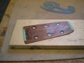 Broken Headstock Repair on Martin D-28 'Head Splice' Headplate Removed