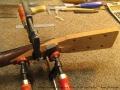 Broken Headstock Repair on Martin D-28 'Head Splice' Gluing New Head