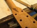 Broken Headstock Repair on Martin D-28 'Head Splice' New Head Reglued