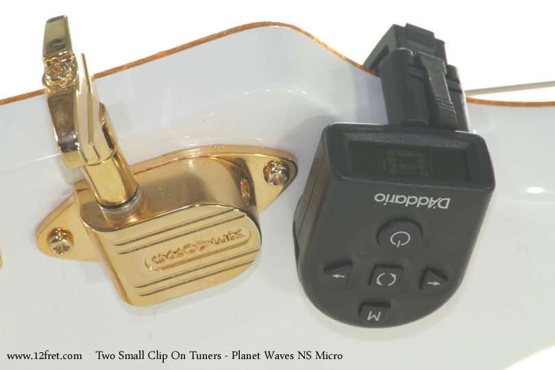 Two Small Clip On Tuners Planet Waves NS Micro