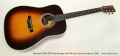 Eastman E20D-SB Dreadnought Steel String Guitar Sunburst, 2005 Full Front View