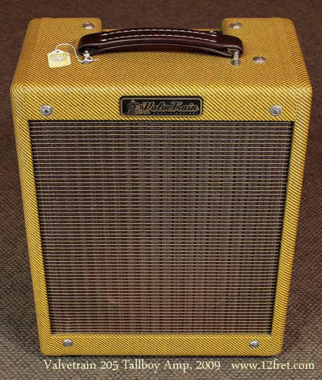 2009 Valvetrain 205 Tallboy Tweed amp front view