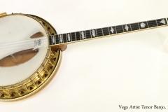 Vega Artist Tenor Banjo, 1926  Full Front View