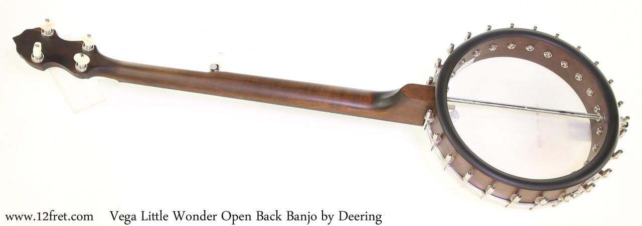 Vega Little Wonder Open Back Banjo by Deering Full Rear View