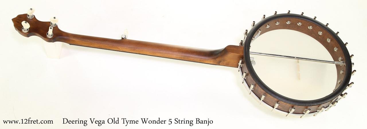 Vega Old Tyme Wonder Frailing / Clawhammer Banjo - www