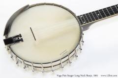 Vega Pete Seeger Long Neck Banjo, 1961 Top View