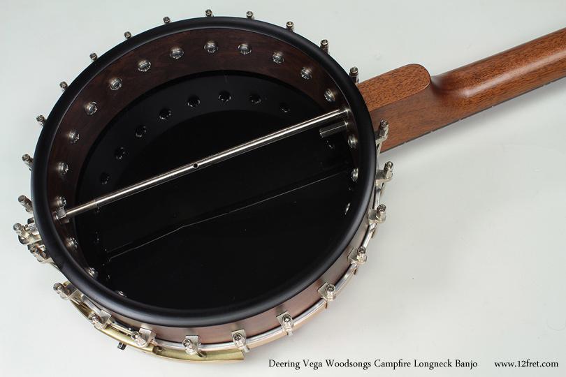 Vega Woodsongs Campfire Long Neck Banjo back