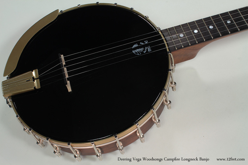 Vega Woodsongs Campfire Long Neck Banjo top