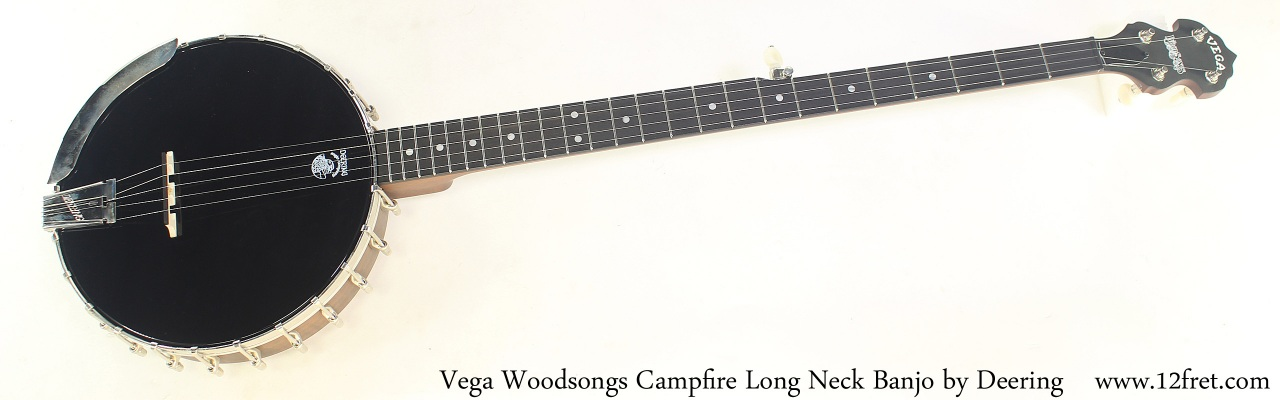 Vega Woodsongs Campfire Long Neck Banjo by Deering Full Front View