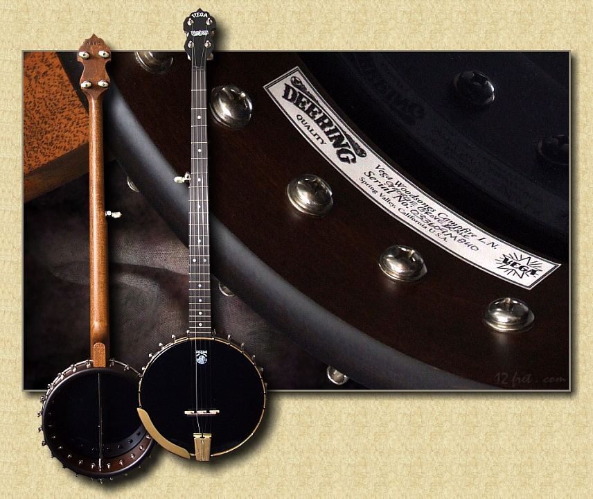Vega by Deering: Woodsongs George Grove Long Neck / Short Neck Banjo