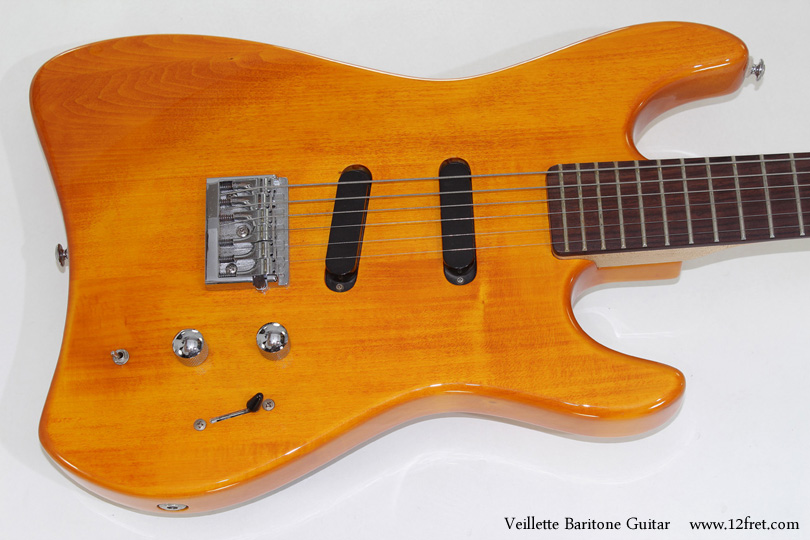 Alvarez Veillette Baritone Guitar top