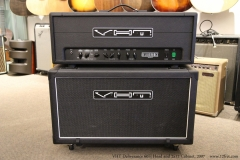 VHT Deliverance 60H Head and 2x12 Cabinet, 2007  Full Front View