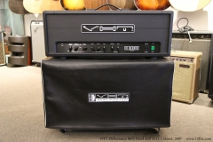 VHT Deliverance 60H Head and 2x12 Cabinet, 2007  Top Cover Off