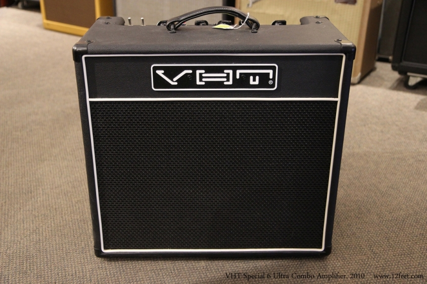 VHT Special 6 Ultra Combo Amplifier, 2010 Full Front View