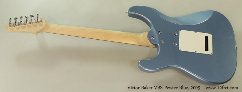Victor Baker VBS Pewter Blue, 2005 Full Rear View
