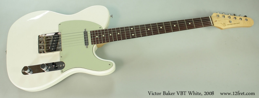 Victor Baker VBT White, 2008 Full Front View
