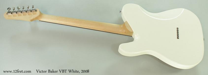 Victor Baker VBT White, 2008 Full Rear View
