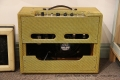 Victoria 20112-T Tweed Amplifier, 2000 Full Rear View