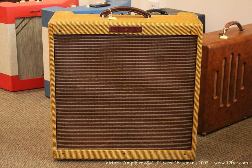 Victoria Amplifier 4541-T Tweed 'Bassman', 2002 Full Front View