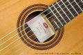 Otto Vowinkel Picado Model 2a Classical Guitar, 2017 Label View