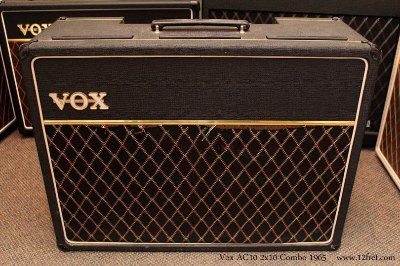 Vox AC10 2x10 Combo Amp 1965 full front