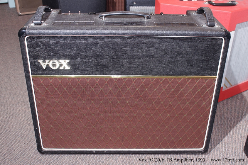 Vox AC30/6 TB Amplifier, 1993 Full Front View