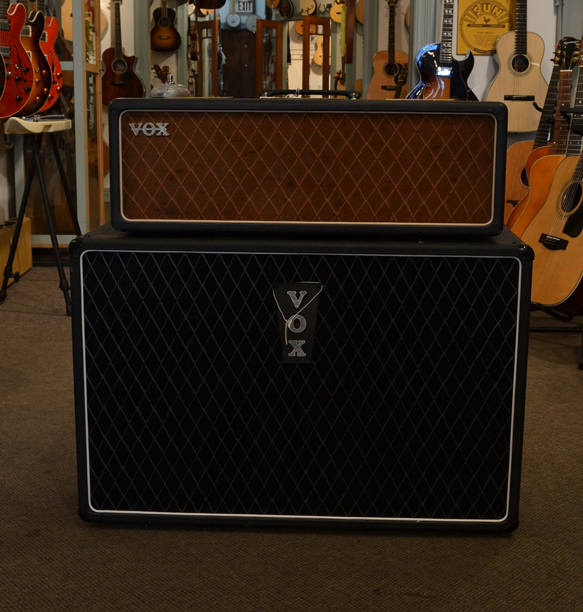 vox ac 30 head 1963 consignment sold. Black Bedroom Furniture Sets. Home Design Ideas