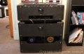 Vox AC30 Amplifier Head and Cabinet, 1965 Full Rear View