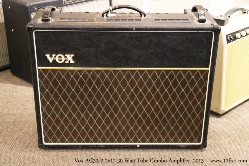 Vox AC30c2 2x12 30 Watt Tube Combo Amplifier, 2013  Full Front View