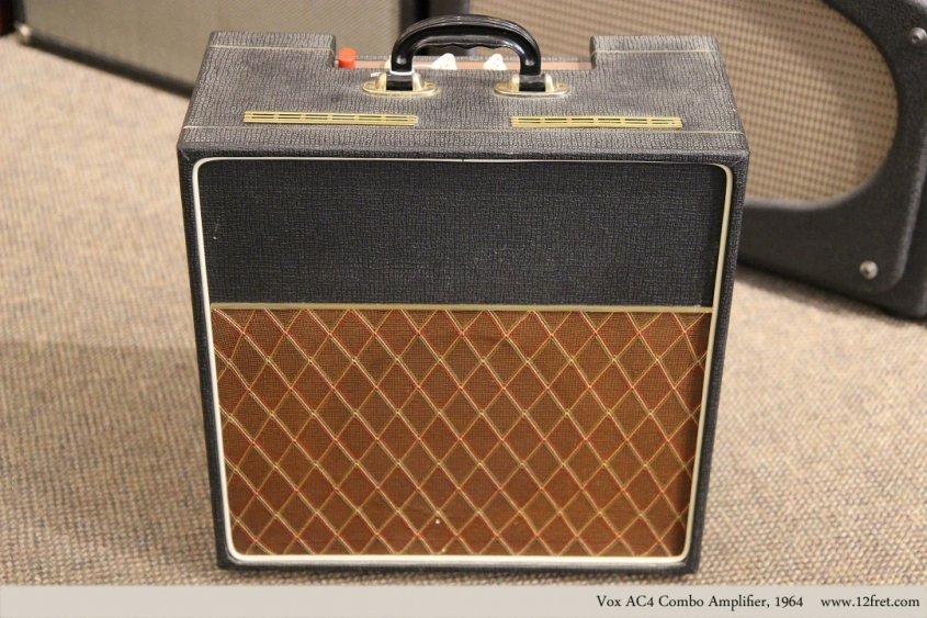 Vox AC4 Combo Amplifier, 1964   Full Front View
