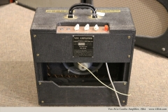 Vox AC4 Combo Amplifier, 1964   Full Rear View
