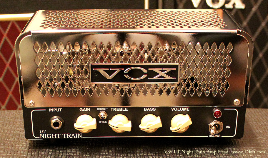 Vox Lil' Night Train Amp Head Front