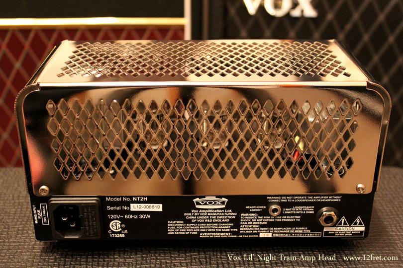 Vox Lil\' Night Train Amp Head rear