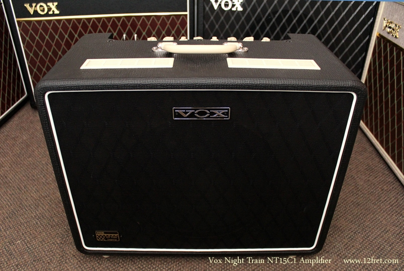 Vox Night Train NT15C1 Amplifier front